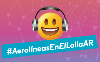 #AerolíneasEnElLollaAR